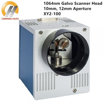 1064nm Fiber Laser Galvanometer Scanner Head Input 10mm 12mm with Power Supply