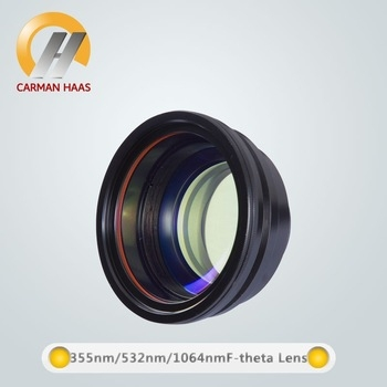 Chine fabricant fournisseur 355/532/405nm f-thêta Scan Lens