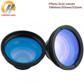Fiber UV F-theta 1064 355 532 Scan Lenses for Fiber UV Green Laser Marking Machine