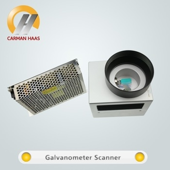 Galvo scanner Head & f-thêta Scan Lens fournisseur