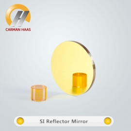 Top quality 30mm diameter Co2 gold coated Si Laser Reflection Mirror