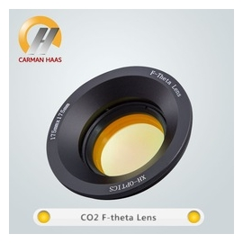 F-theta Scan Lens 10600nm for Optical Fiber CO2 Laser Marking Machine