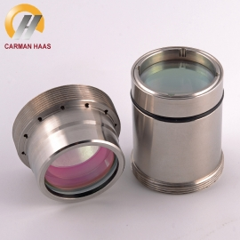 China Fiber Laser Focus Lens D30 F100 F125mm with Lens Holder for Fiber Laser Cutting Head BT240S 2000W 4000W 0-4KW factory