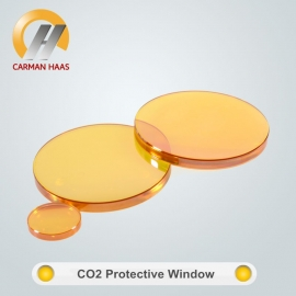 Fabbrica della Cina Optical grade CO2 Laser lens Znse protect window for co2 laser cutting machine