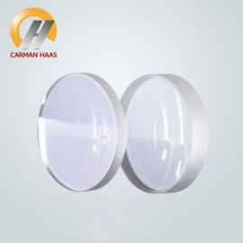 China Spherical Collimating Focusing Lens D28mm 30mm 37mm FL125 F150 F200 Quartz Fused Silica for High Energy Fiber Laser 1064nm factory